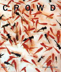 I helped found CROWD magazine. I was their Arts Editor and Art Director.