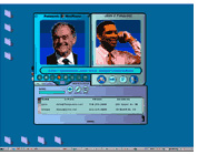 In the age before Skype, I produced the Flash Demo used by Panasonic to pitch their new video ICQ application.